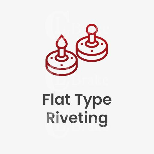flat type riveting